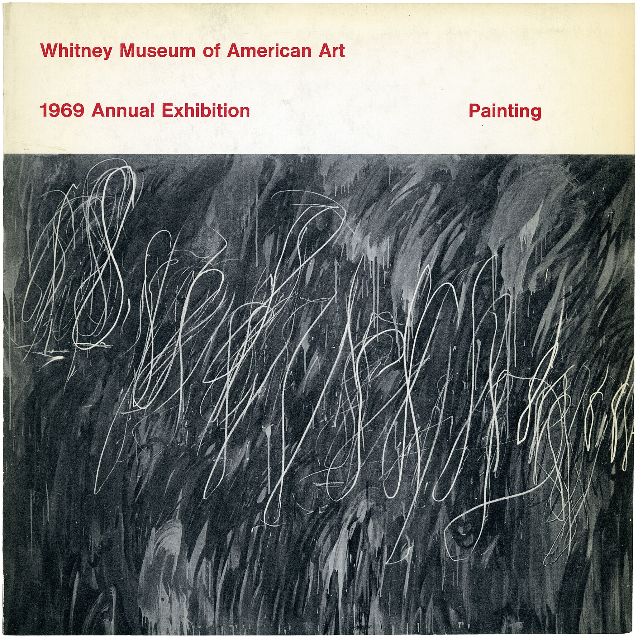 Catalogue cover for 1969 Annual Exhibition: Contemporary American Painting