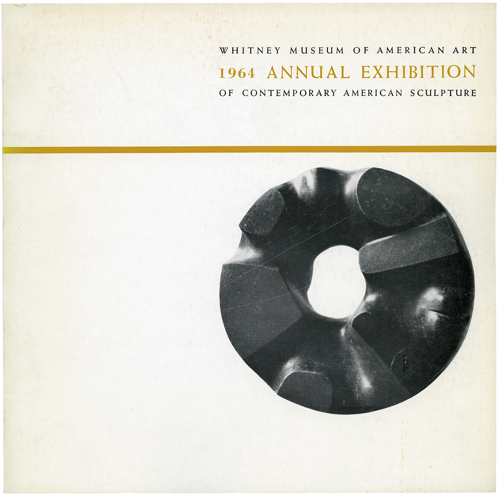 Cover for 1964 Annual Exhibition of Contemporary American Sculpture catalogue