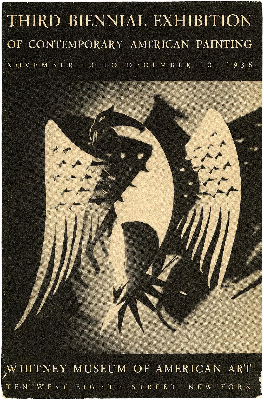 Cover for the Third Biennial catalogue