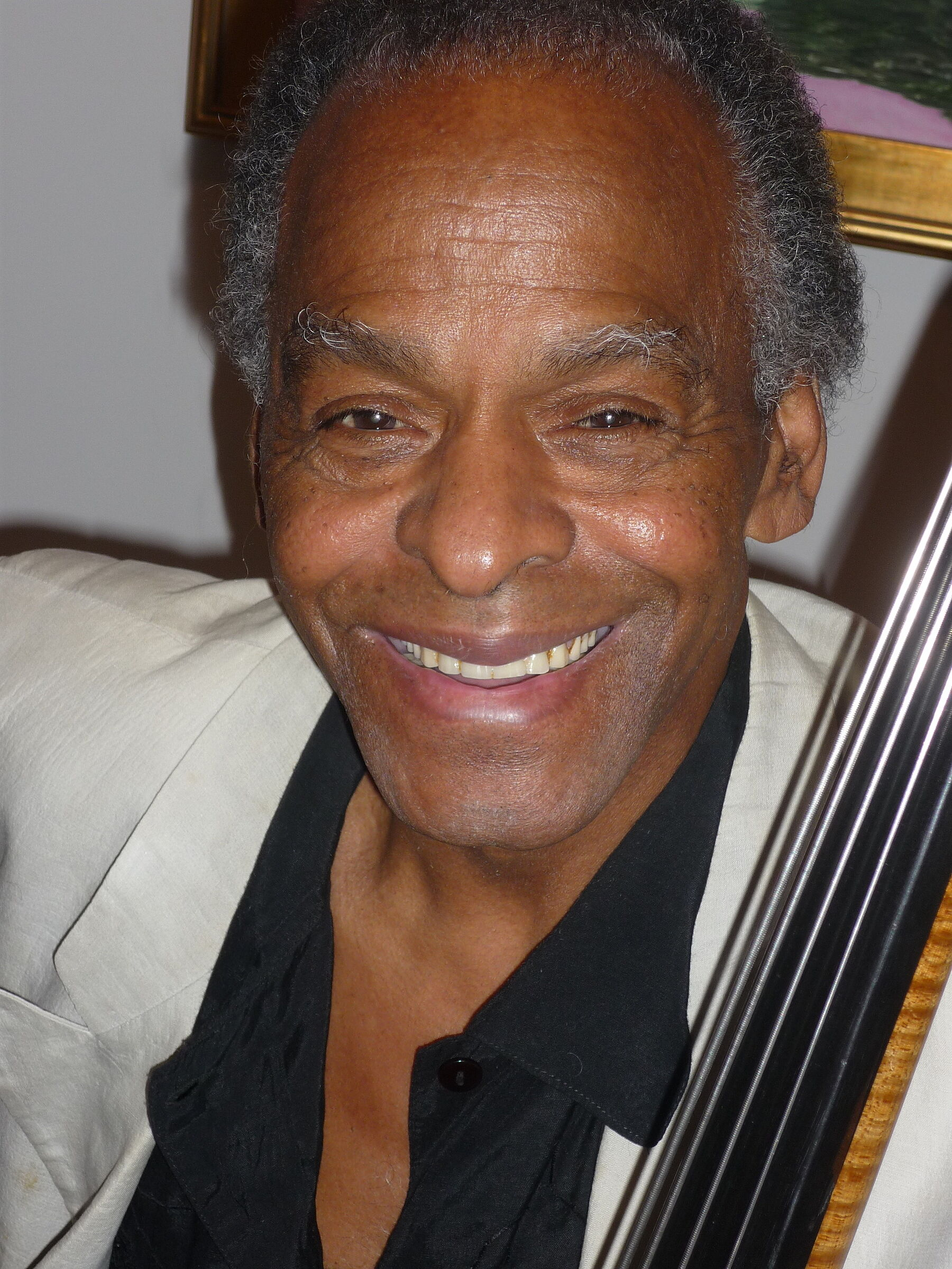 A photo of Cecil McBee.
