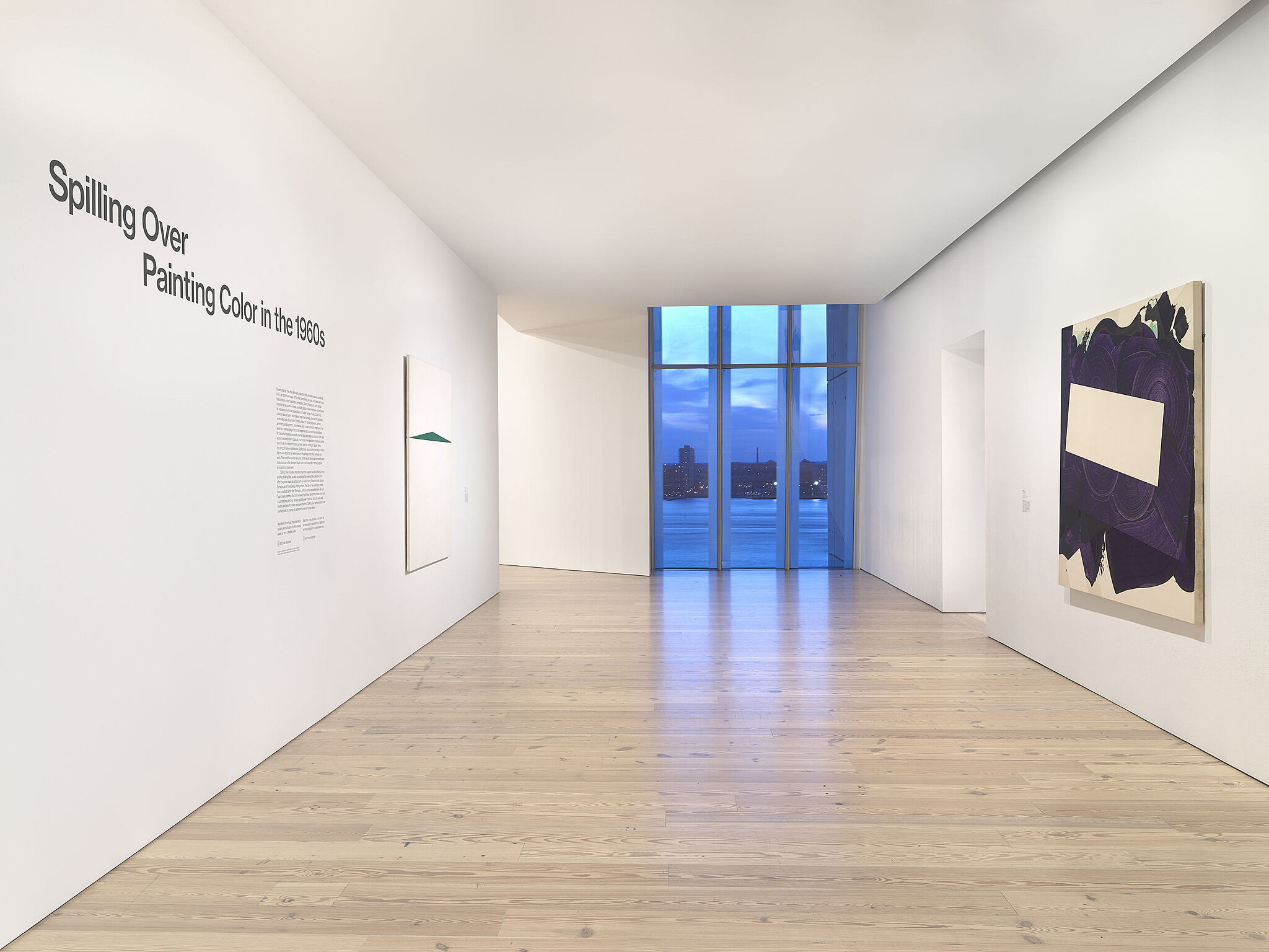 An image of the Whitney galleries