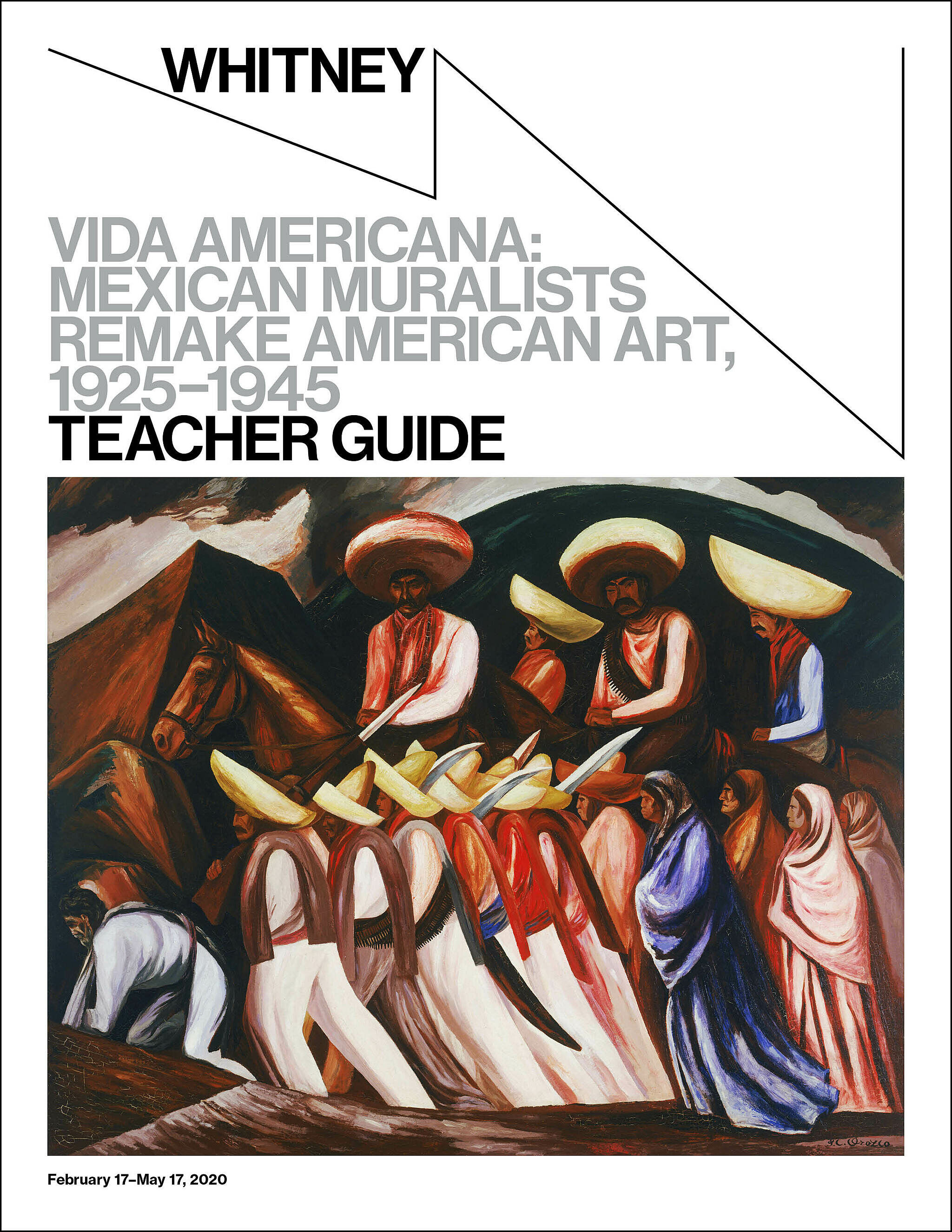 Vida Americana Teacher Guide cover.