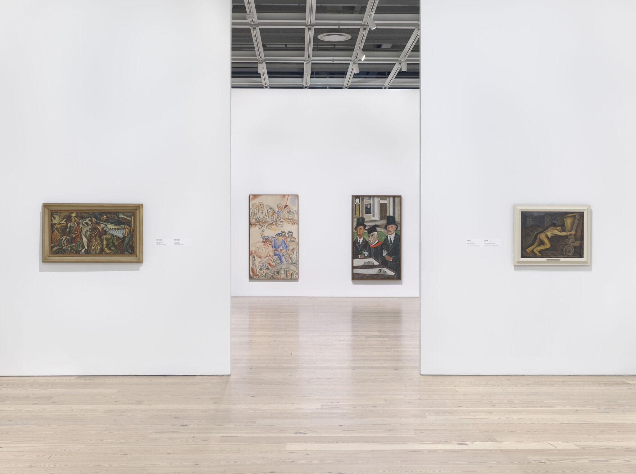 Gallery view of Vida Americana: Mexican Muralists Remake American Art, 1925–1945
