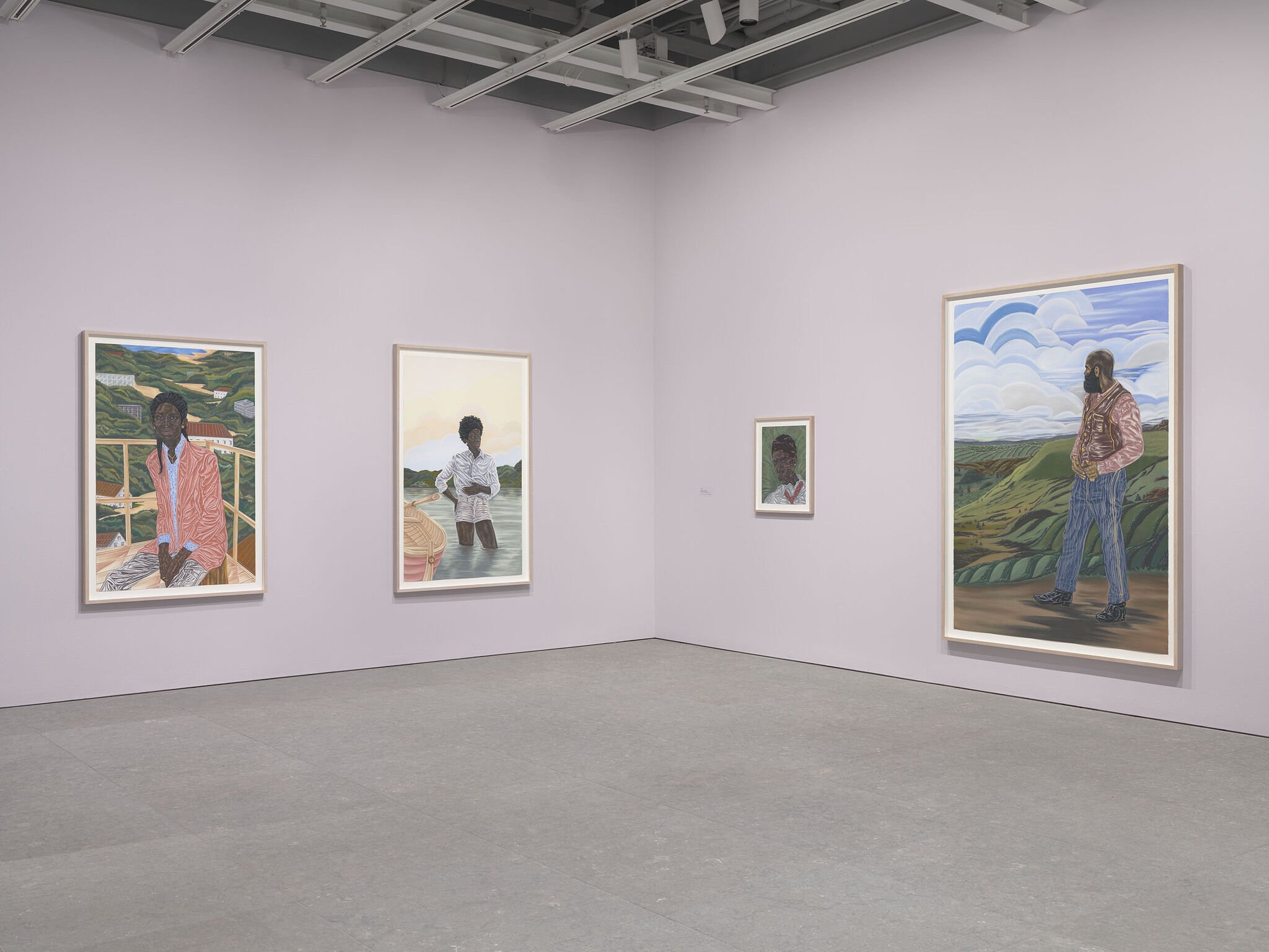 Gallery view of Toyin Ojih Odutola: To Wander Determined