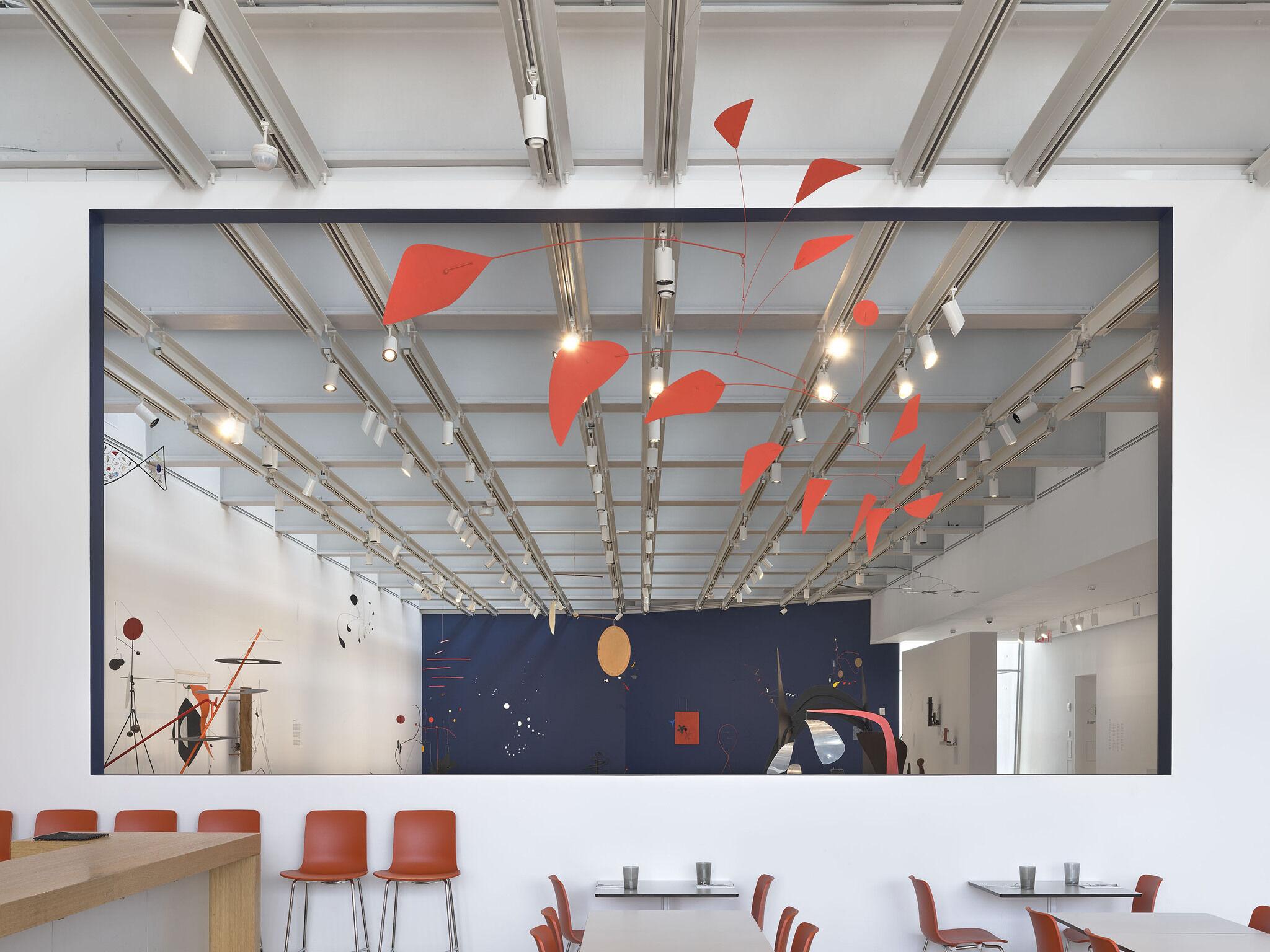 Gallery view of Calder: Hypermobility through Studio Cafe