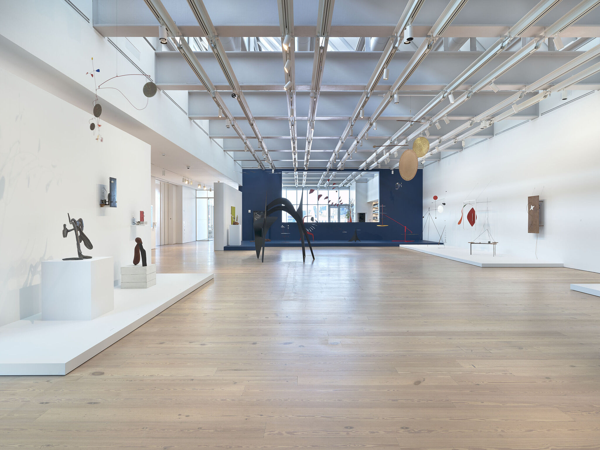 Gallery view of Calder: Hypermobility looking towards Studio Cafe