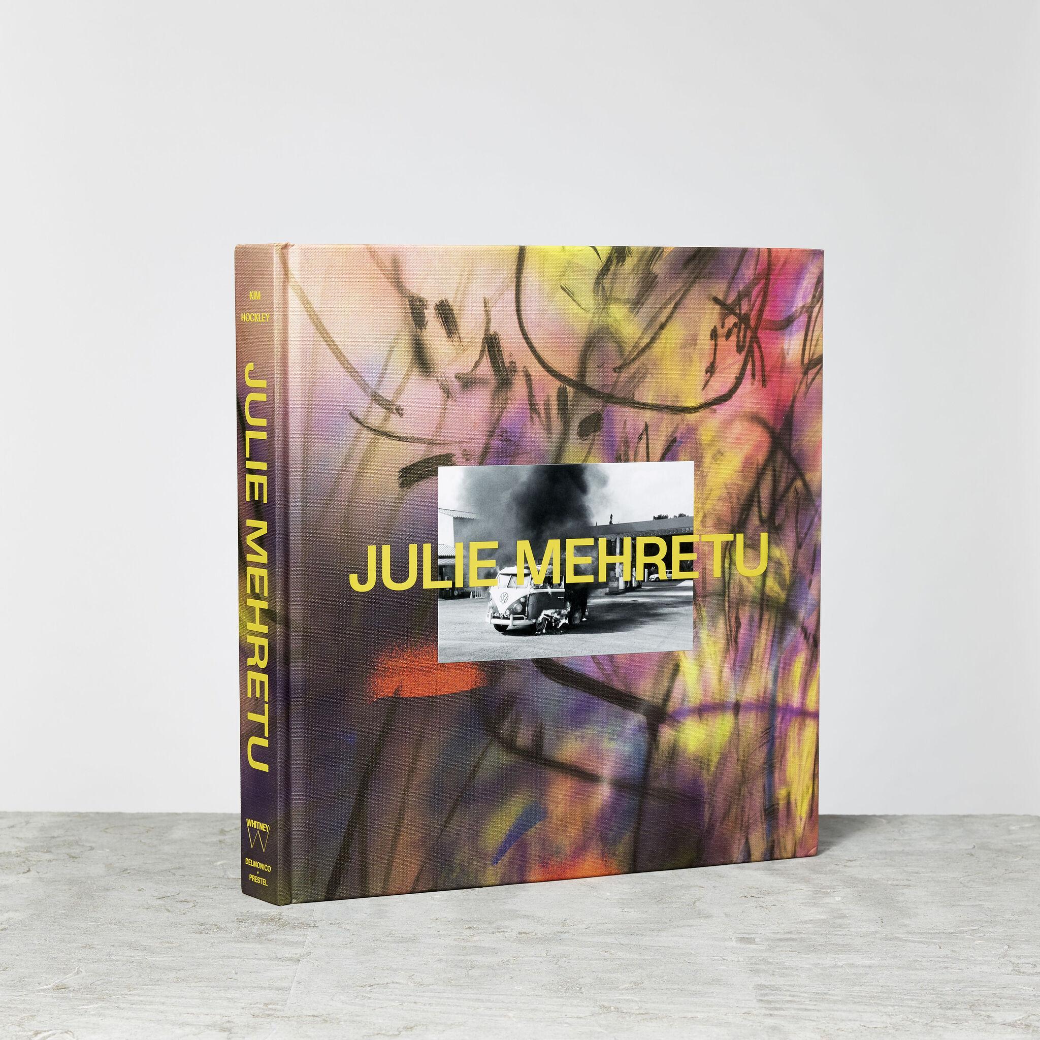 Julie Mehretu exhibition catalogue cover.